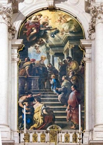 800px-Santa_Maria_della_Salute_(Venice)_-_Presentazione_della_virgine_al_tempio_di_Luca_Giordano_1674