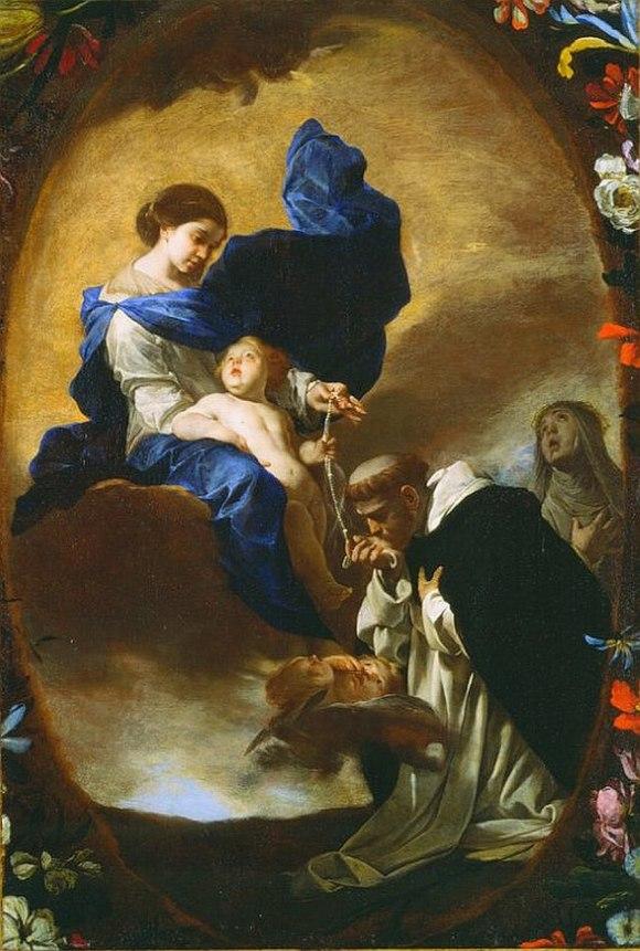 880px-Bernardo_Cavallino_-_La_Visione_di_San_Domenico_(anni_1640)