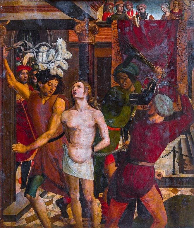 Maestro_de_becerril-flagelación_de_san_pelayo-catedral_de_málaga