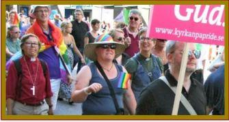 Obispa Marcha Orgullo Gay