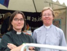 Obispa y su Esposa Lund Suecia