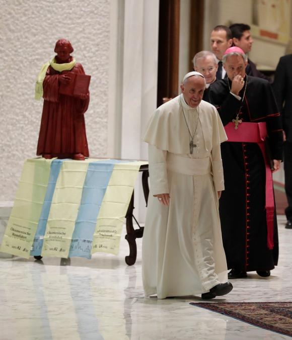 Francisco y Lutero Vaticano 02