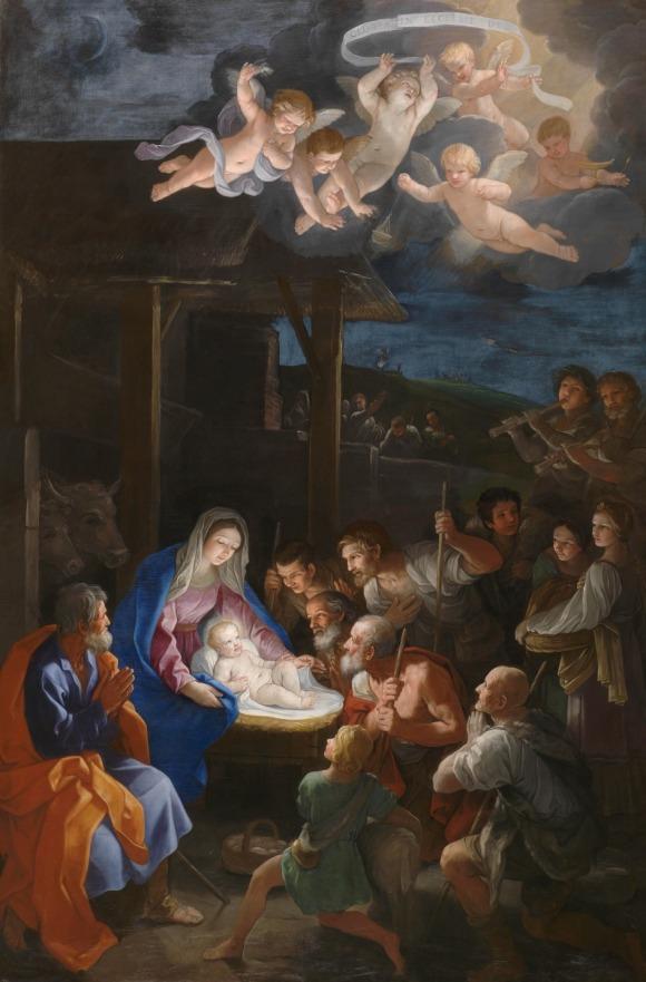 nacimiento Guido reni