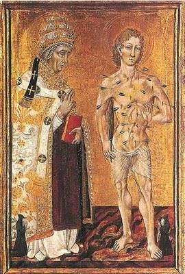 San Fabian Papa, martirizado