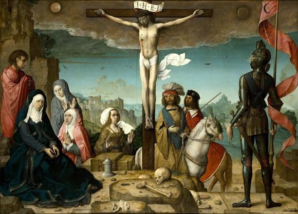 Resultado de imagen para huesos al pie del crucifijo craneo