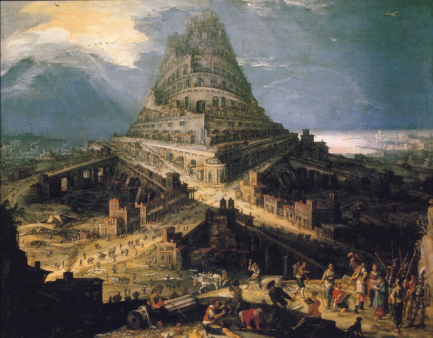 Resultado de imagen para torre babel nimrod