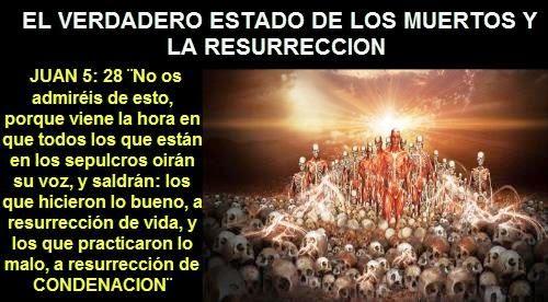 Resultado de imagen para jesus alma inmortal resurreccion