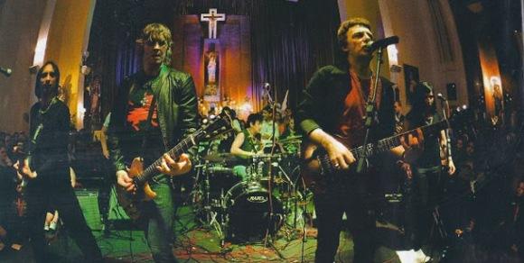 rock en el templo