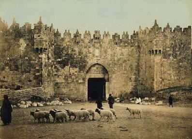 puerta damasco año 1900