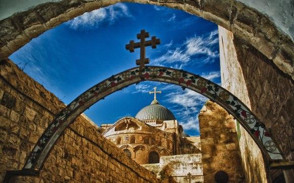 Santo-Sepulcro-en-la-ciudad-vieja-de-Jerusalen