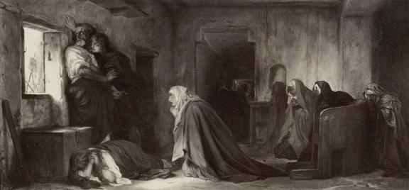 painting-by-paul-delaroche-la-vierge-chez-les-saintes-femmes-artokoloro