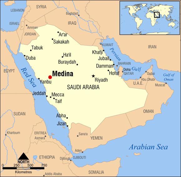 medina-arabia-saudita-mapa
