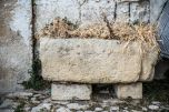 20074315-old-stone-manger-in-the-old-town-of-matera