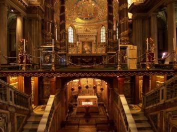 Altar da Basilica de Santa Maria Maior