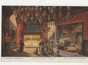 Grotto-Of-The-Nativity-Bethlehem-Vintage-Postcard-463a