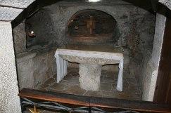 gruta de los santos inocentes