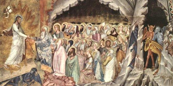 1 Andrea di Bonaiuto, Discesa di Cristo al Limbo