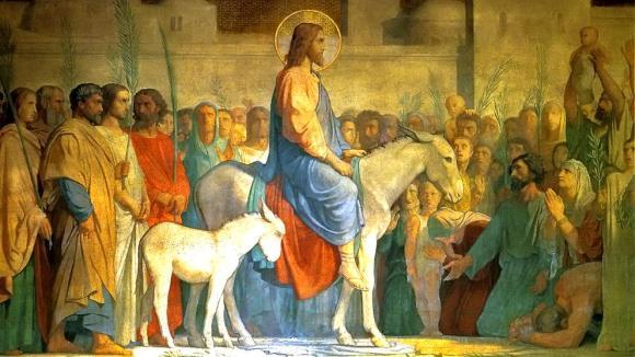Christ-entering-Jerusalem-on-an-ass