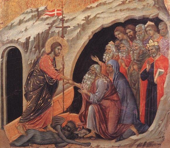 Descenso a los infiernos_ Duccio di Buoninsegna (1311)