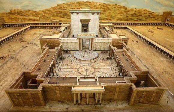 maqueta templo herodes