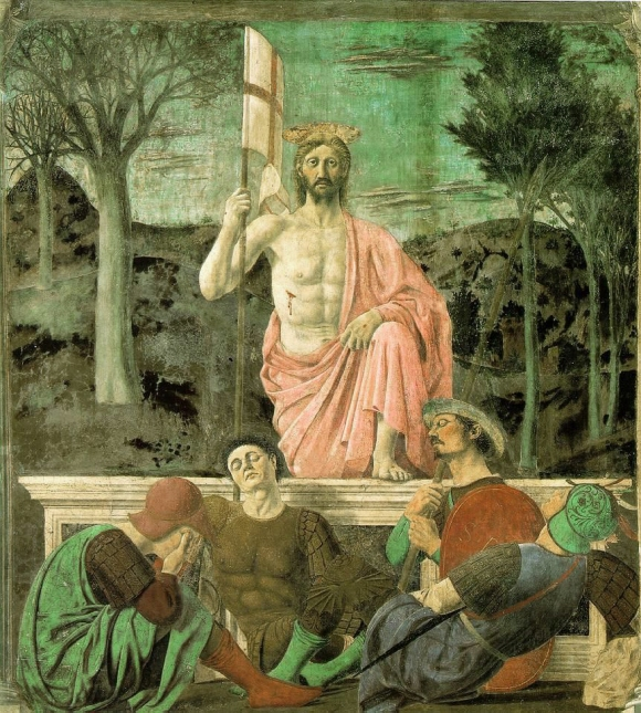 Resurrection piero de la Francesca
