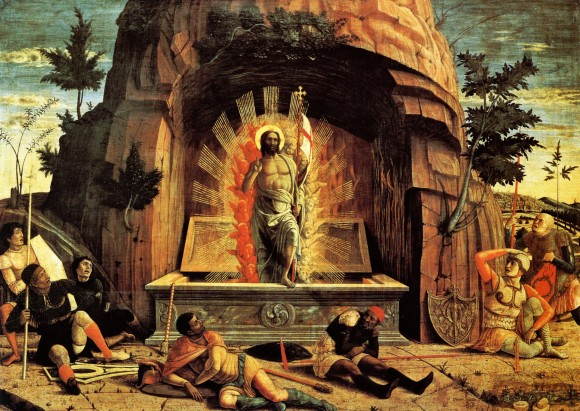 the-resurrection-right-hand-predella-panel-from-the-altarpiece-of-st-zeno-of-verona-1459
